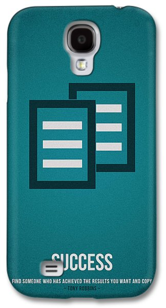 Success Galaxy S4 Case by Aged Pixel