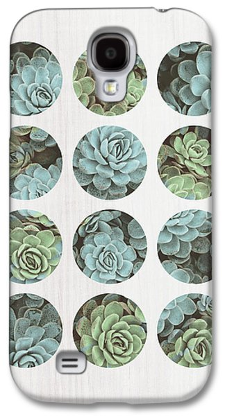 Succulent Dots Galaxy S4 Case by Tammy Apple