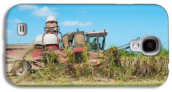 Sugar Cane Being Harvested, Lower Galaxy S4 Case by Panoramic Images