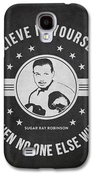 Sugar Ray Robinson - Dark Galaxy S4 Case by Aged Pixel