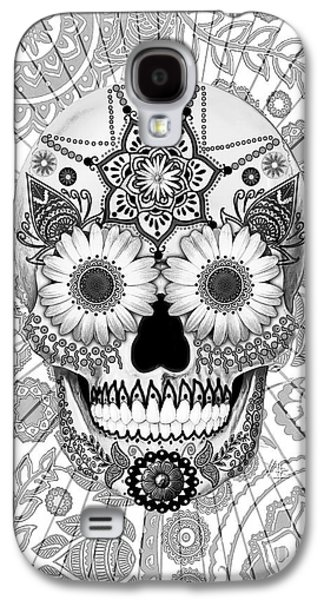 Sugar Skull Bleached Bones - Copyrighted Galaxy S4 Case by Christopher Beikmann