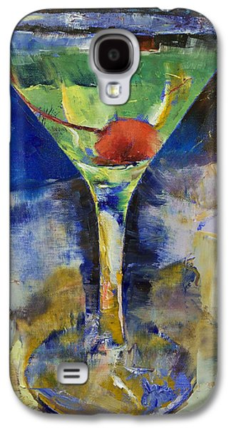 Summer Breeze Martini Galaxy S4 Case by Michael Creese
