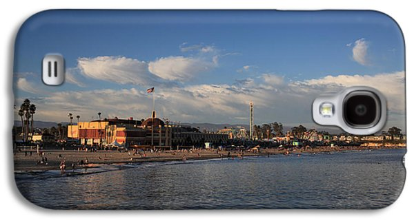 Summer Evenings In Santa Cruz Galaxy S4 Case by Laurie Search