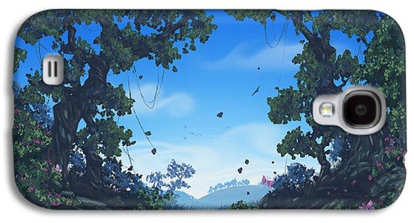 Summer Fields Galaxy S4 Case