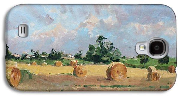 Summer Fields In Georgetown On Galaxy S4 Case by Ylli Haruni
