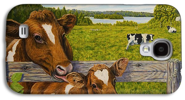 Summer Pasture Galaxy S4 Case by Veikko Suikkanen
