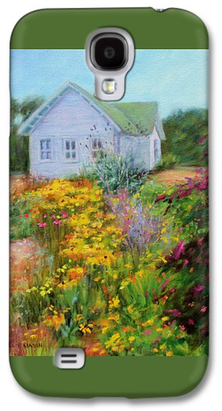 Summer Place- On The Outer Banks Galaxy S4 Case by Bonnie Mason