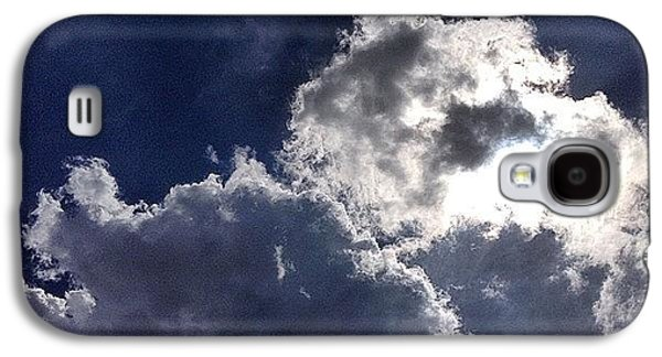 Sunny Galaxy S4 Case - Summer Sky  by Nic Squirrell