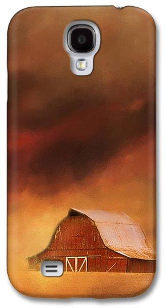 Summer Storm At The Barn Galaxy S4 Case by Jai Johnson