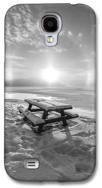 Sun Dog Bw Galaxy S4 Case