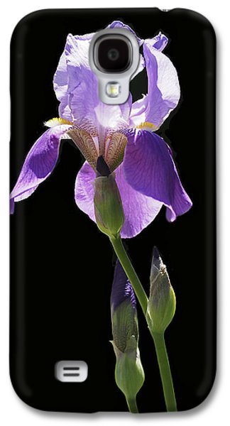 Sun-drenched Iris Galaxy S4 Case by Rona Black