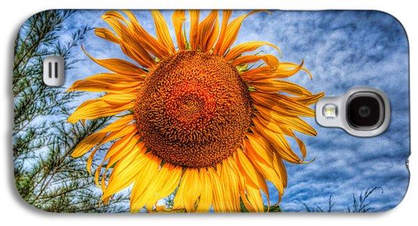 Sun Flower Galaxy S4 Case