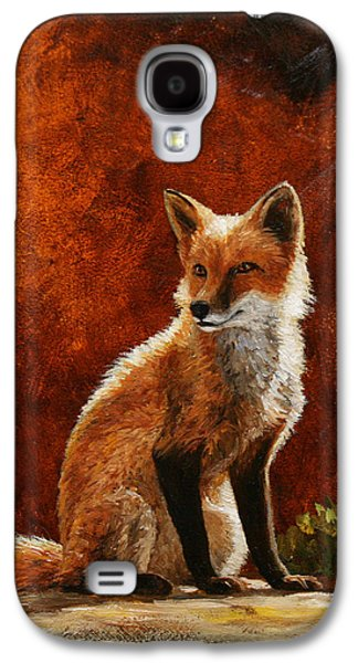 Sun Fox Galaxy S4 Case by Crista Forest