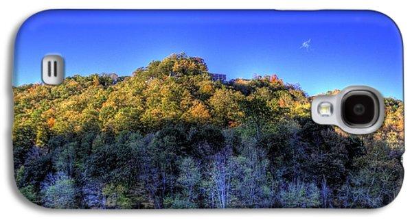 Sun On Autumn Trees Galaxy S4 Case