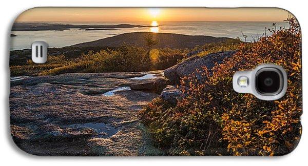 Sun Rise Shock Galaxy S4 Case by Kristopher Schoenleber