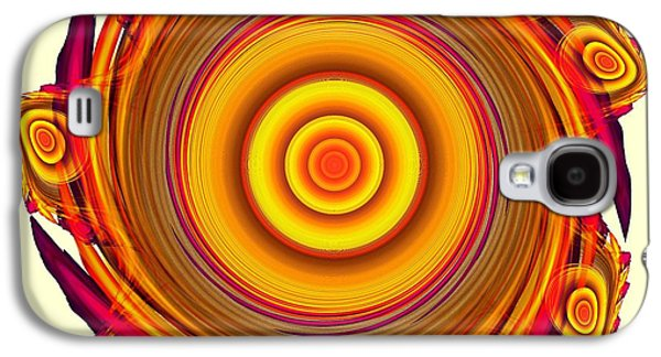Sun Salutation Galaxy S4 Case by Anastasiya Malakhova