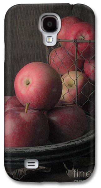 Sun Warmed Apples Still Life Galaxy S4 Case by Edward Fielding