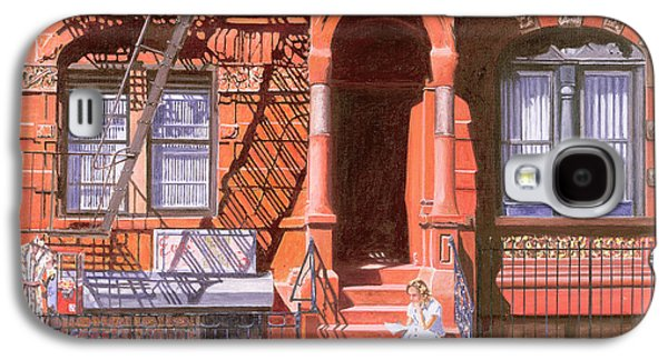 Sunday Afternoon East 7th Street Lower East Side Nyc Galaxy S4 Case by Anthony Butera