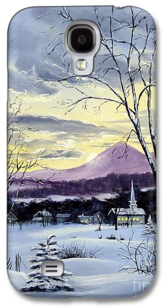Sunday In Winter Galaxy S4 Case by Lee Piper