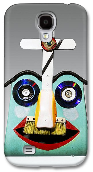 Sunday Mask Galaxy S4 Case by Bill Thomson