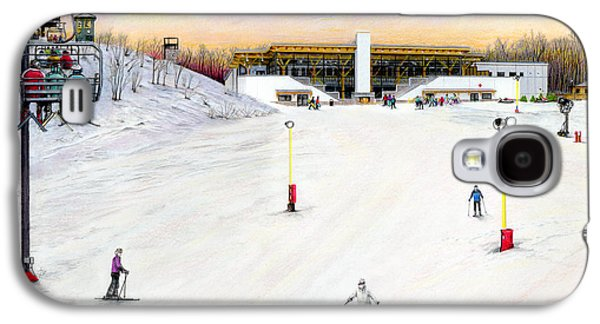 Sundial Lodge At Nemacolin Woodlands Resort Galaxy S4 Case by Albert Puskaric