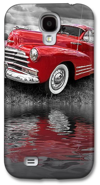Sundown By The Lake - 1948 Red Chevy Galaxy S4 Case
