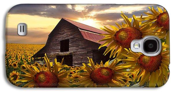 Sunflower Dance Galaxy S4 Case