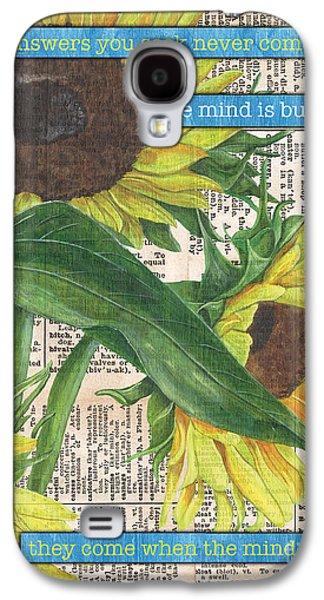 Sunflower Dictionary 1 Galaxy S4 Case by Debbie DeWitt