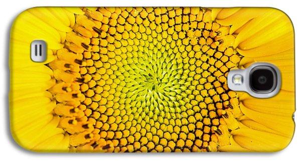 Sunflower  Galaxy S4 Case by Edward Fielding