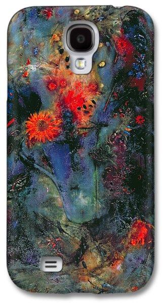 Sunflower Galaxy S4 Case by Jane Deakin