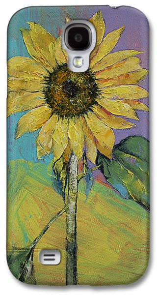 Sunflower Galaxy S4 Case