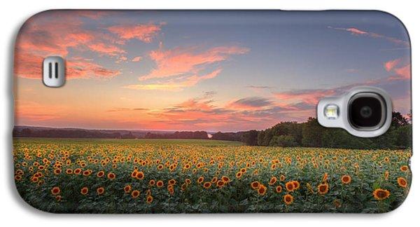 Sunflower Sunset Galaxy S4 Case
