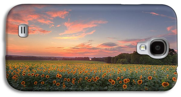 Sunflower Sunset Galaxy S4 Case by Bill Wakeley