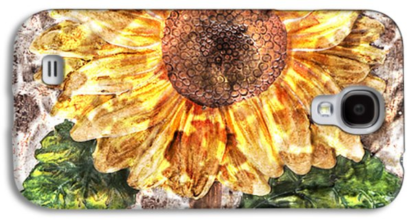 Sunflower With Hope And Love Galaxy S4 Case