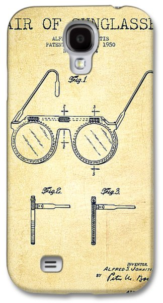Sunglasses Patent From 1950 - Vintage Galaxy S4 Case