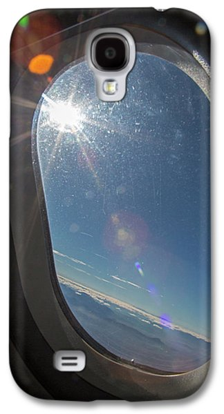 Sunlight Flare In Aircraft Window Galaxy S4 Case by Jim West