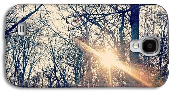 Sunlight Through The Trees Galaxy S4 Case by Genevieve Esson