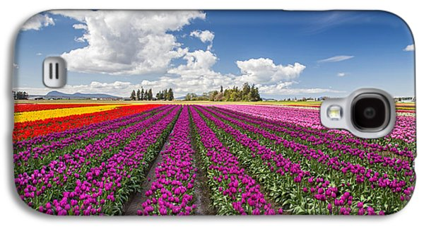 Sunny Day In The Tulip Field Galaxy S4 Case by Pierre Leclerc Photography