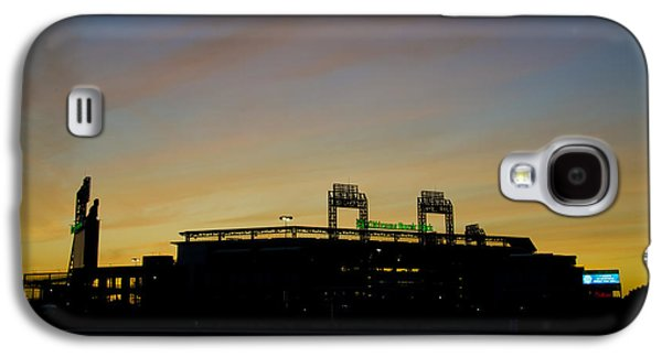 Sunrise At Citizens Bank Park Galaxy S4 Case by Bill Cannon