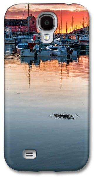 Sunrise At Rockport Harbor - Cape Ann Galaxy S4 Case