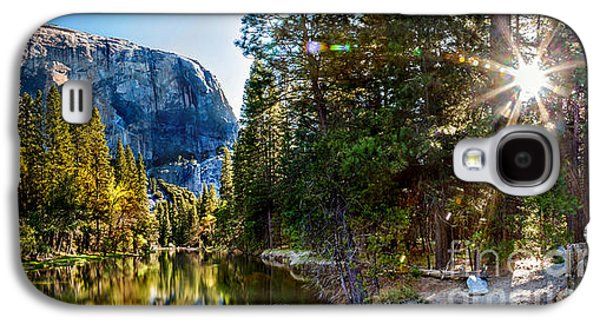 Yosemite National Park Galaxy S4 Case - Sunrise At Yosemite by Az Jackson
