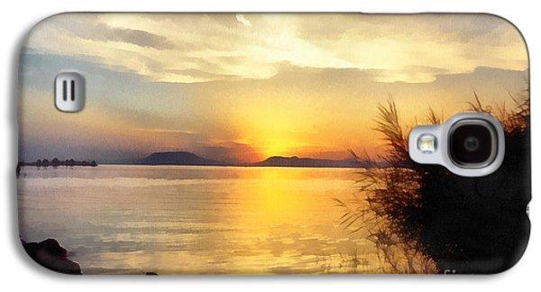 Sunrise In The Balaton Lake Galaxy S4 Case