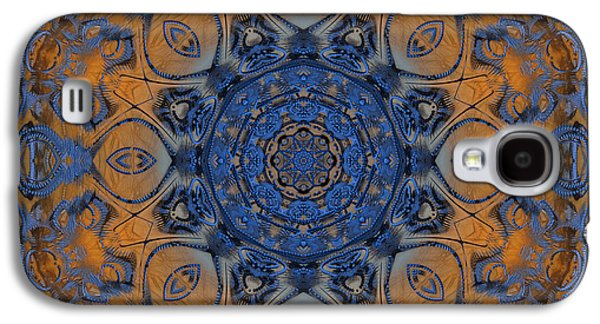 Sunrise Kaleidoscope Galaxy S4 Case by Deborah Benoit