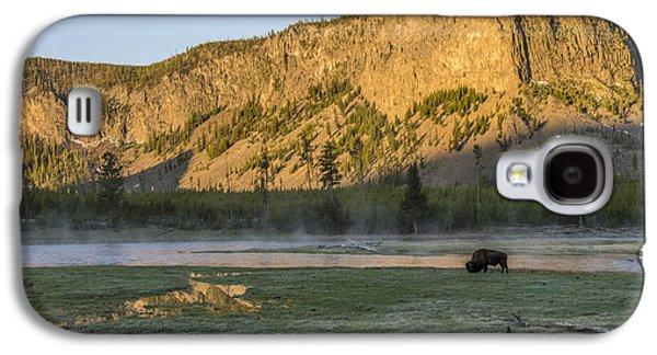 Sunrise Mt. Hayes Yellowstone National Park Galaxy S4 Case
