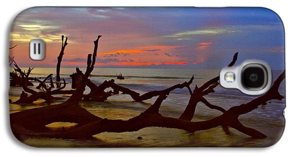 Sunrise On Bulls Island Galaxy S4 Case by Bill Barber