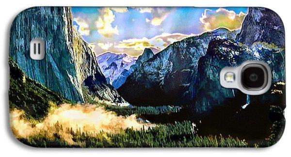 Sunrise Yosemite Valley Nationalpark Galaxy S4 Case by Bob and Nadine Johnston