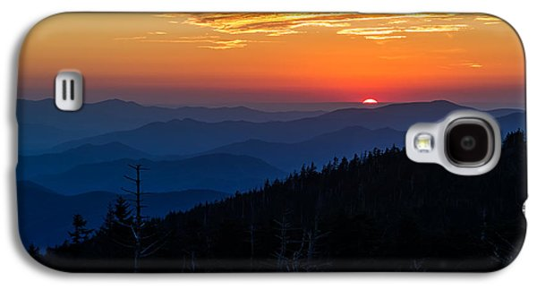 Sun's Last Peak Over The Blue Ridge Galaxy S4 Case