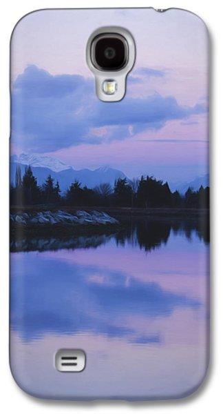 Sunset Art - Nature's Painting Galaxy S4 Case by Jordan Blackstone