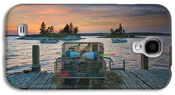 Sunset At Allen's Dock Galaxy S4 Case