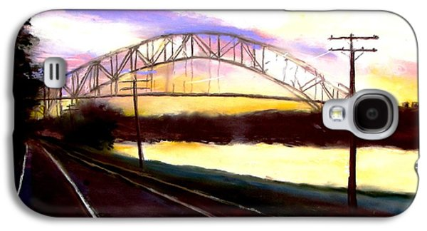 Sunset At Cape Cod Canal Galaxy S4 Case by Jack Skinner
